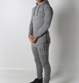 Icelus Clothing Tech Fleece Suit Grey
