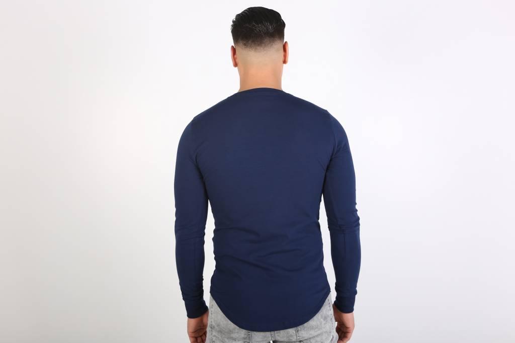 Icelus Clothing Casino Longsleeve Blue