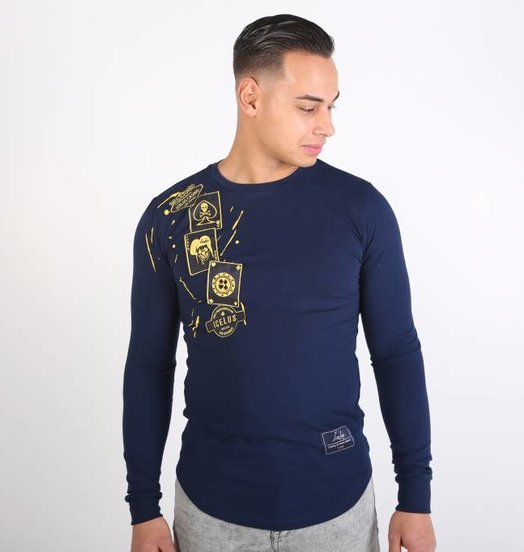 Icelus Clothing Casino Longsleeve Blue