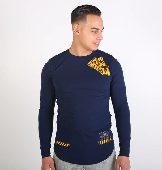 Icelus Clothing Danger Longsleeve Blue