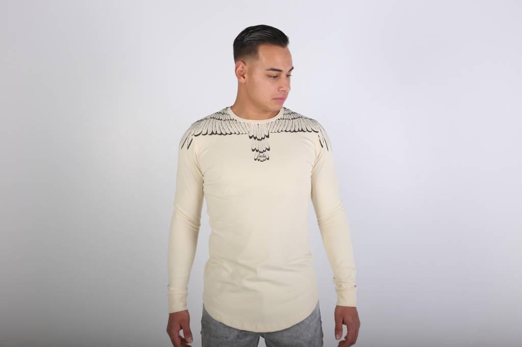 Icelus Clothing Wing Longsleeve Vanilla