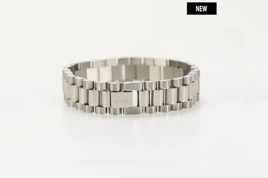 Icelus Clothing Steel Bracelet Silver