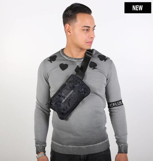 Icelus Clothing Camo Waist Bag