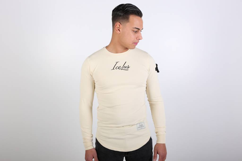 Icelus Clothing Patch Longsleeve Vanilla