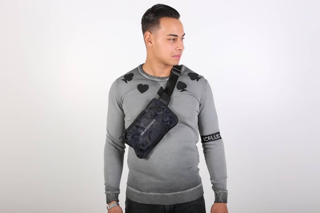 Icelus Clothing Casino Sweater Gray