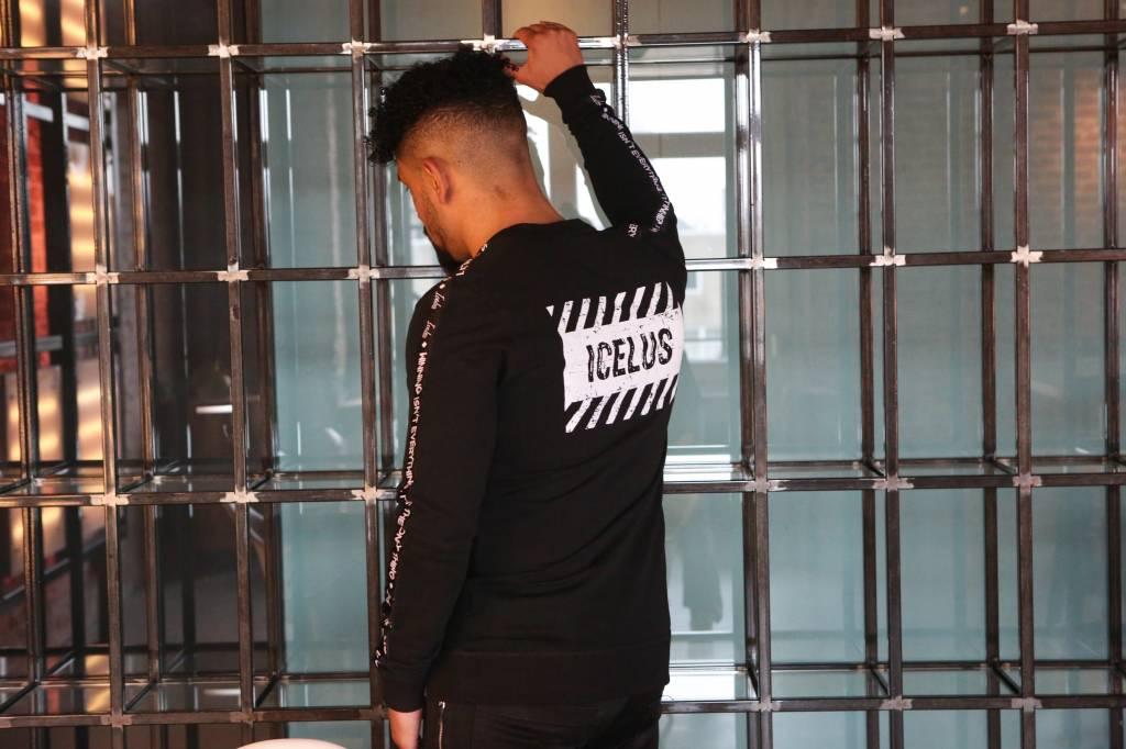 Icelus Clothing Logo Sweater Black
