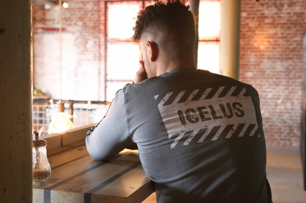 Icelus Clothing Logo Sweater Grey
