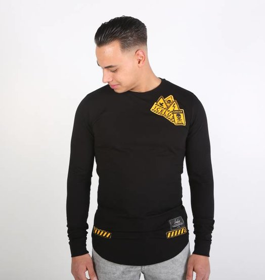 Icelus Clothing Danger Longsleeve Black