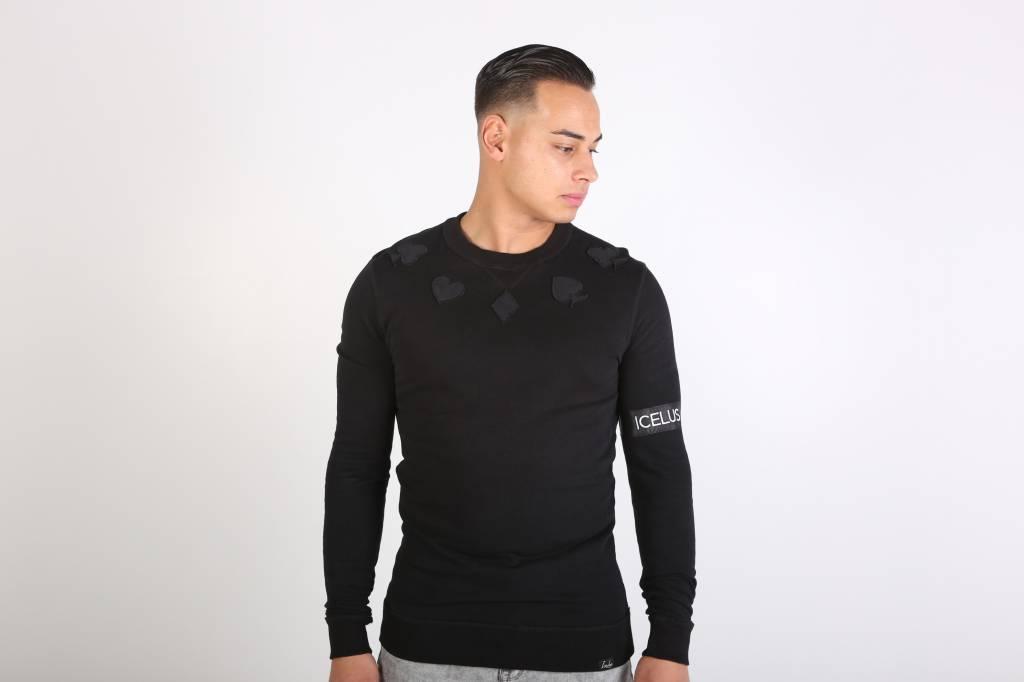 Icelus Clothing Casino Sweater Black