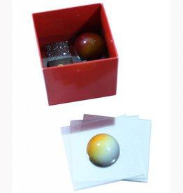 Transparante tussenleggers voor Cubebox