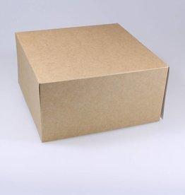 Patisserie doos kraft  - 100 stuks
