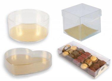 Transparante verpakkingen