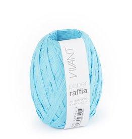 Paper Raffia - Turquoise - 6 rollen