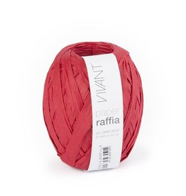 Paper Raffia - Red - 6 rollen