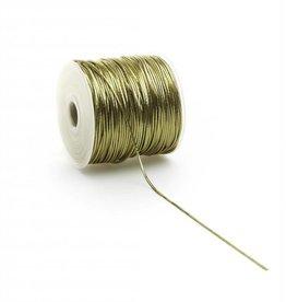 Round Elastic cord - Gold