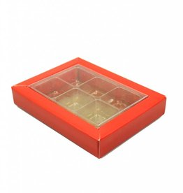 SixBox - Red - 100 pieces