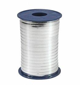 Krullint - zilver Metallic