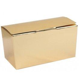 Ballotin - glanzend goud (klepsluiting) - 50 stuks
