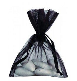 Bolsas organza - negro - 50 unidades