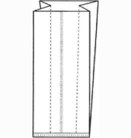 Polyprop zijvouwzakjes - 1000 stuks