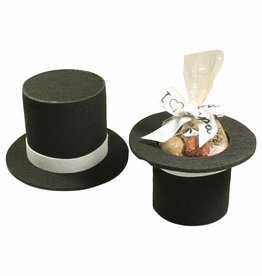 Hoge hoed vilt - 6 stuks