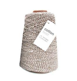 Cotton Twist Cord - Dark Brown