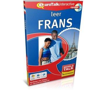 Eurotalk World Talk Leer Frans voor Gevorderden - Cursus world talk Frans