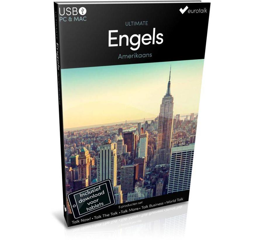Ultimate Amerikaans Engels - Complete taalcursus - Beginners tot Gevorderden