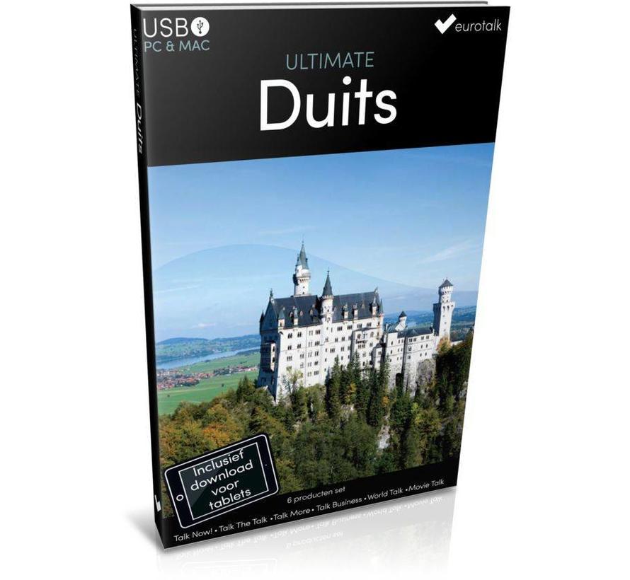 Duits leren - Ultimate  Duits voor Beginners tot Gevorderden