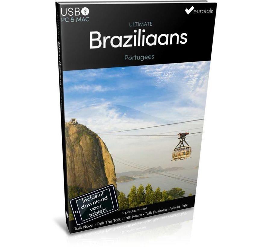 Braziliaans Portugees leren - Ultimate Braziliaans Portugees voor Beginners tot Gevorderden
