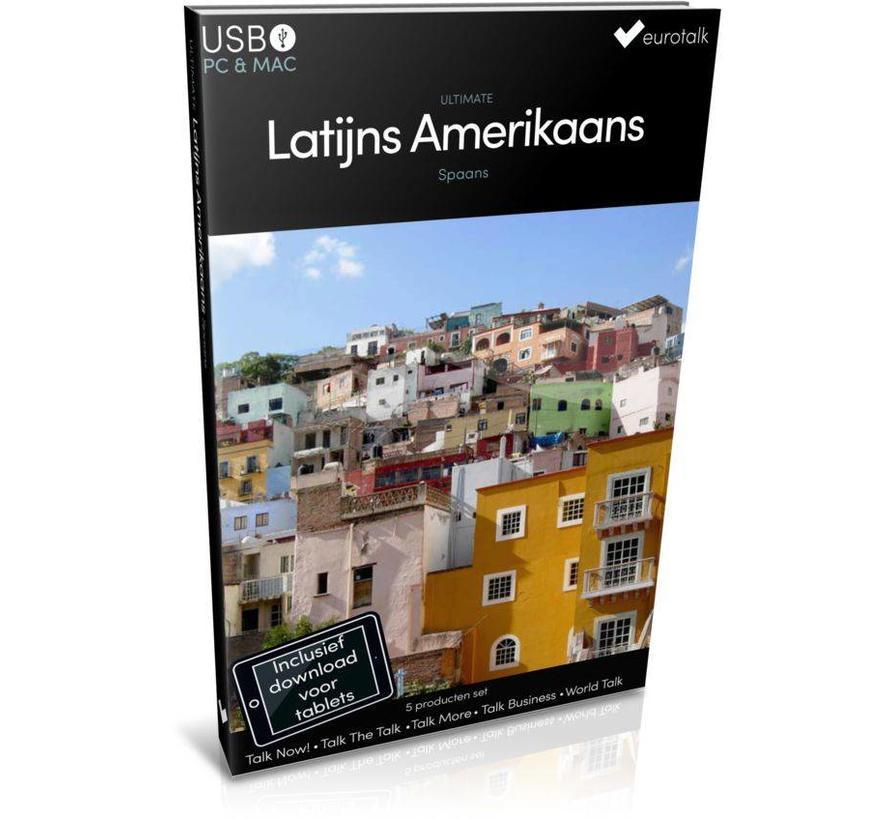 Latijns Amerikaans Spaans leren - Ultimate taalcursus voor Beginners tot Gevorderden