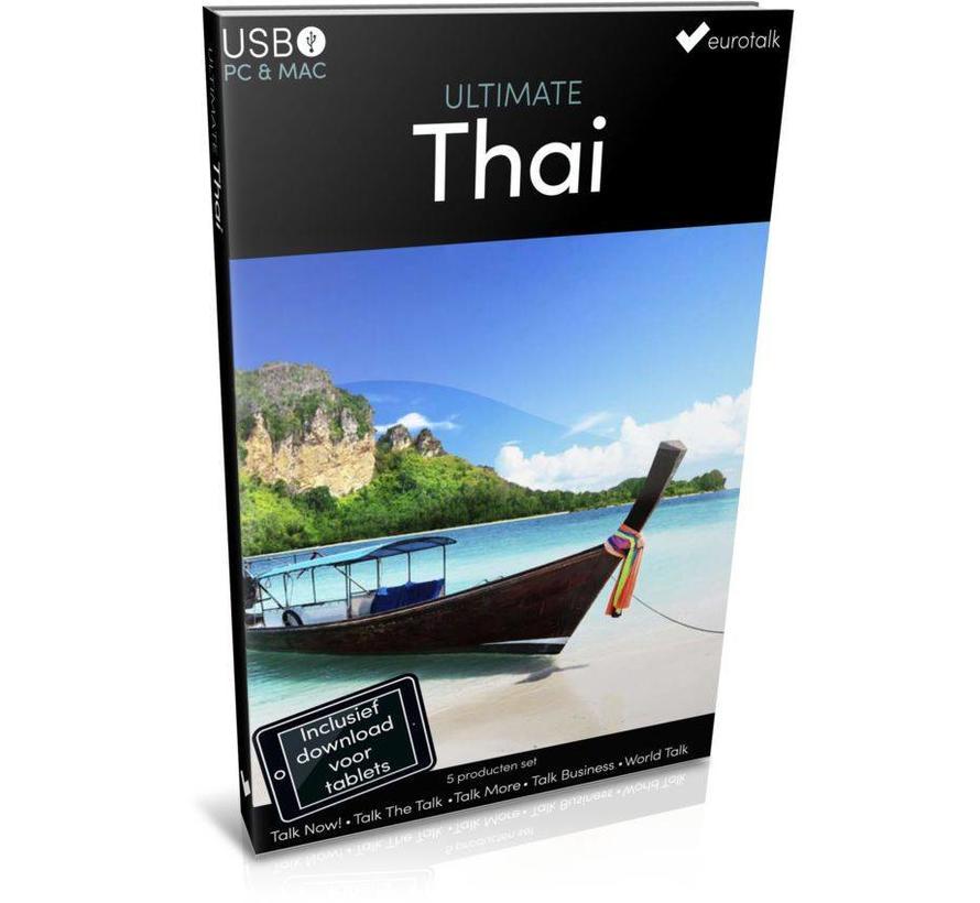 Thais leren - Ultimate Thais voor Beginners tot Gevorderden