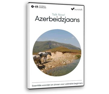 Eurotalk Talk Now Talk Now - Basis cursus Azerbeidzjaans voor Beginners