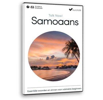 Eurotalk Talk Now Talk Now Samoaans - Basis cursus Samoaans voor Beginners