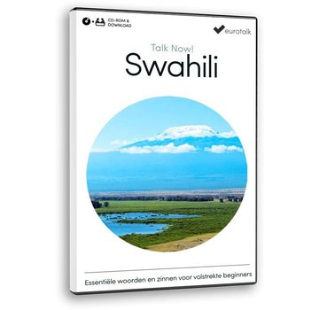 Eurotalk Talk Now Talk now Swahli - Cursus Swahili voor Beginners