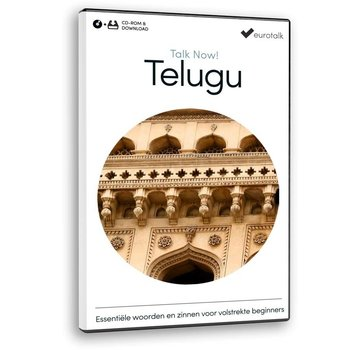 Eurotalk Talk Now Talk Now  - Basis cursus Telugu voor Beginners