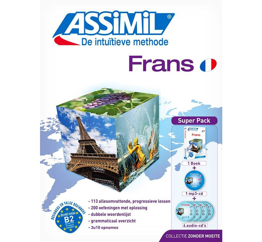 Assimil Frans zonder moeite (Superpack)