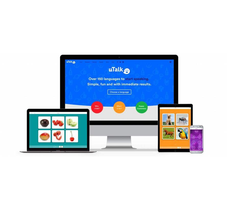 uTalk leer Lets - Online cursus
