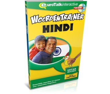 Eurotalk Woordentrainer ( Flashcards) Hindi voor kinderen - Woordentrainer Hindi