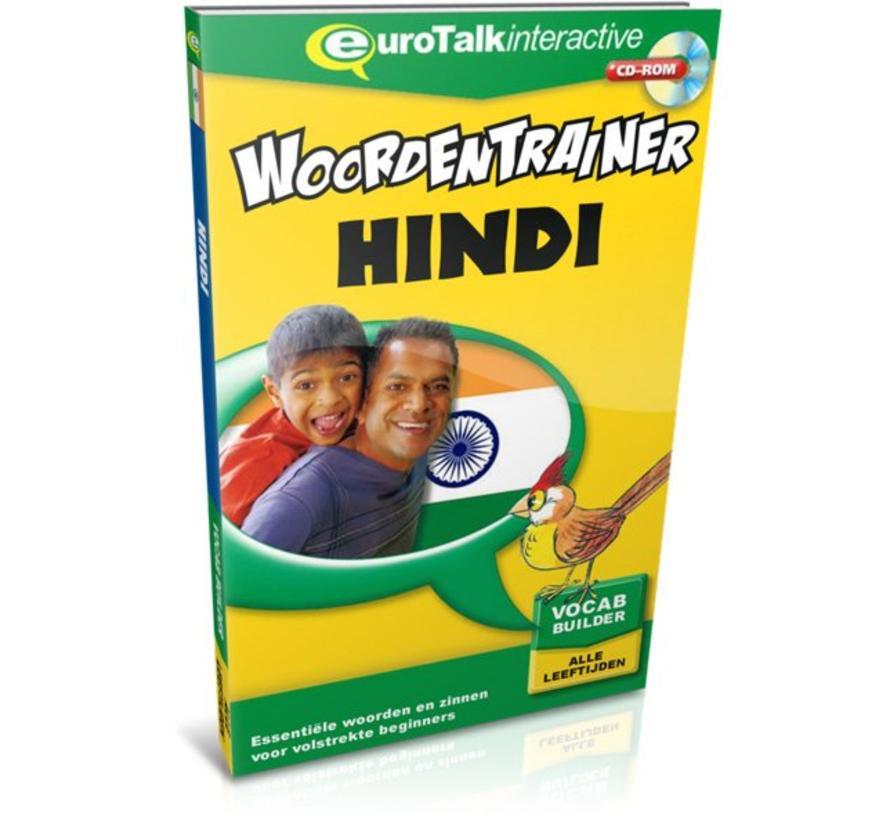 Hindi voor kinderen - Woordentrainer Hindi