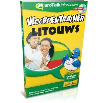 Eurotalk Woordentrainer ( Flashcards) Litouws voor kinderen - Woordentrainer Litouws