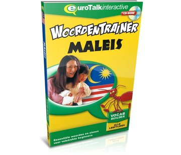 Eurotalk Woordentrainer ( Flashcards) Maleis voor kinderen - Woordentrainer Maleis