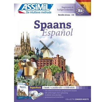 Assimil Spaans leren zonder moeite - Boek + CD + Audio