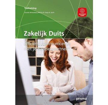 Prisma taalcursussen Leer Zakelijk Duits - Efficient communiceren (Boek + Audio)