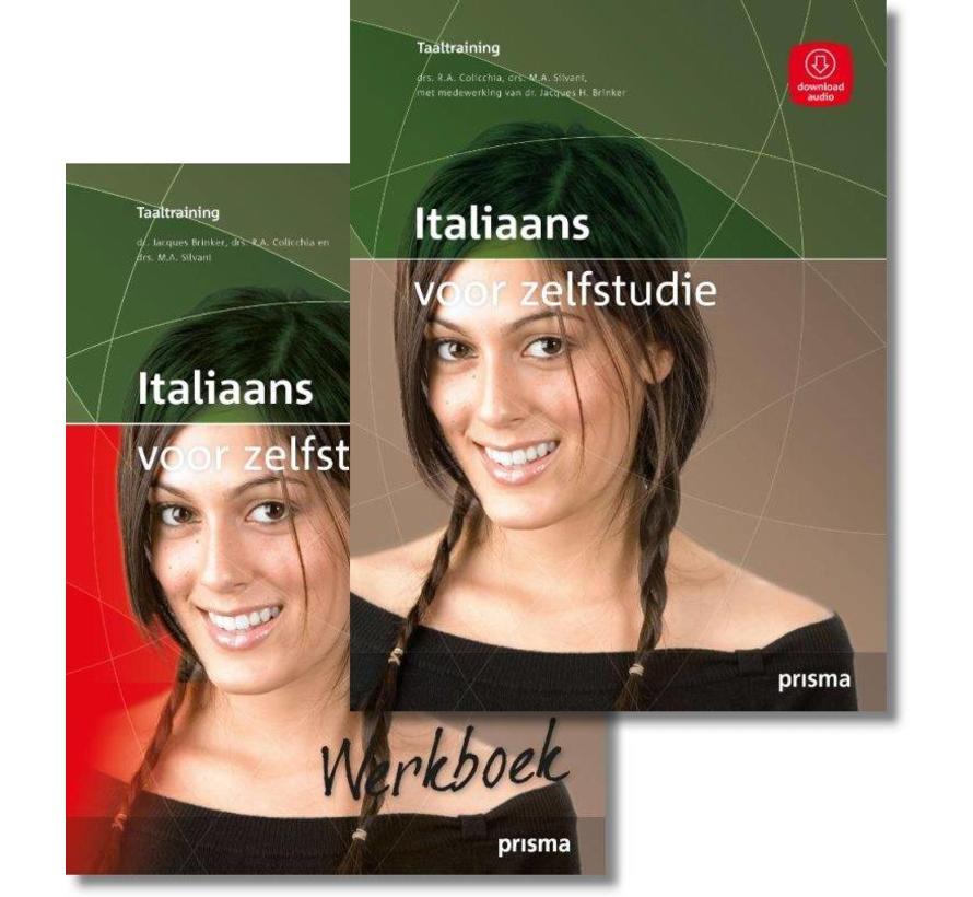 Prisma Italiaans voor Zelfstudie + Werkboek Pakket