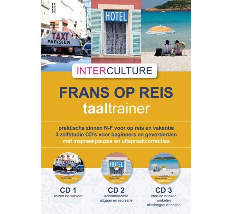 Interculture Taaltrainer Frans op reis - 3 CD's