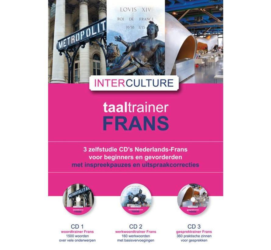 Interculture Taaltrainer Frans - 3 Audio CDs
