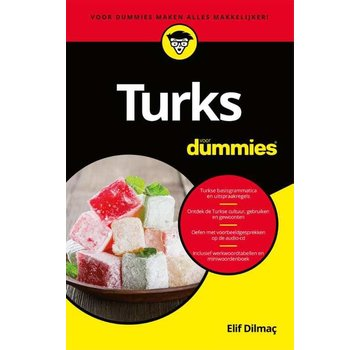 Talen leren voor Dummies - Leerboeken Turks voor Dummies (Leerboek + Audio)