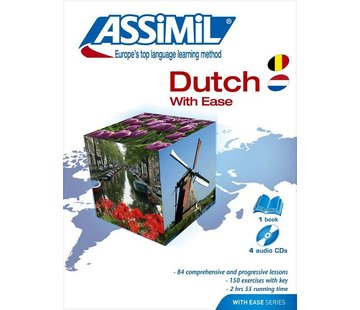Assimil Learn Dutch with Ease - Book + Audio CD's