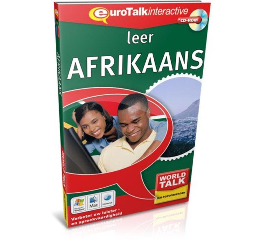 Cursus Afrikaans voor gevorderden